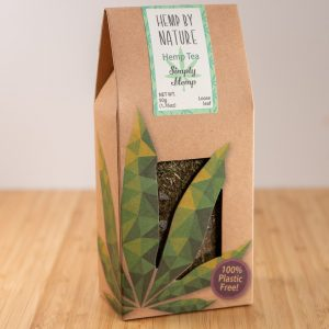 Hemp By Nature Organic Full Spectrum Loose Simply Hemp Tea 50g