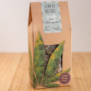 Full Spectrum Hemp Tea with Ashwagandha (15 Compostable Teepees) 30g