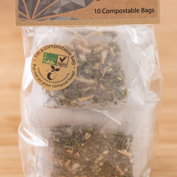 Hemp By Nature Organic CBD Hemp Leaf & Ahwagandha Tea Bags