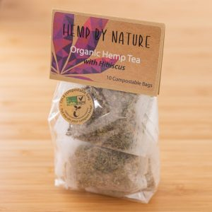 Hemp By Nature Organic CBD Hemp Leaf & Hibiscus Tea Bags