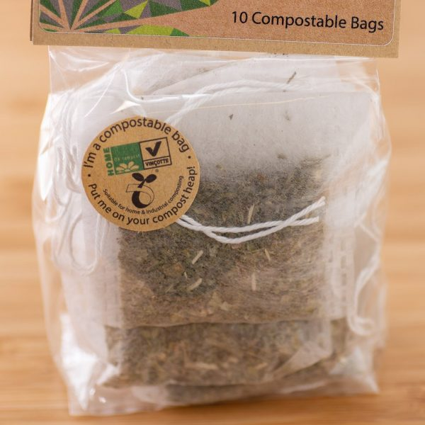 Hemp By Nature Organic CBD Hemp & Yerba Mate Tea Bags