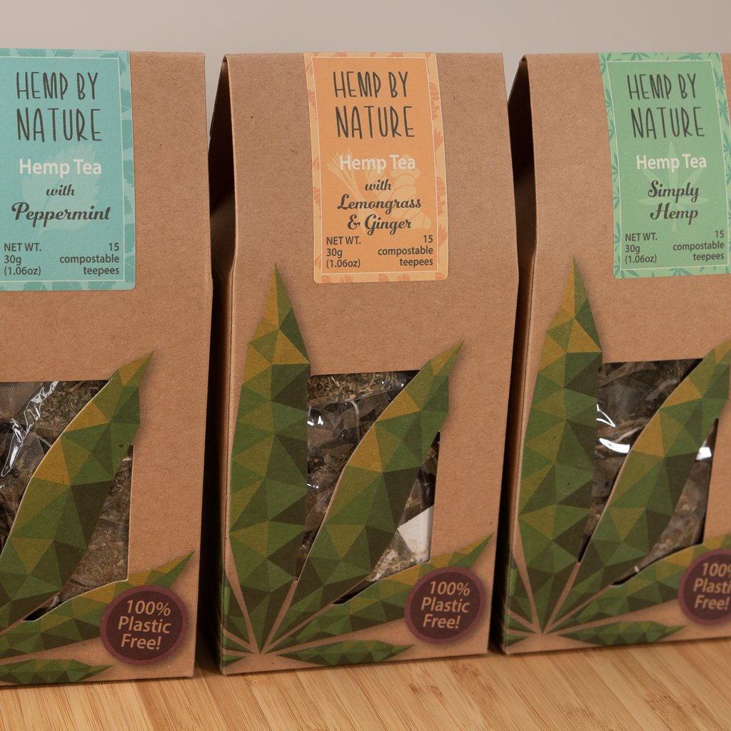 Hemp By Nature Hemp Tea Blends