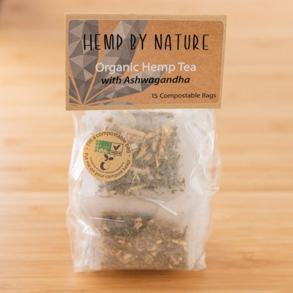 Hemp By Nature Organic Hemp Teabags with Ashwagandha (2)
