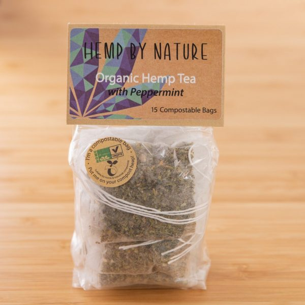 Hemp By Nature Organic Hemp Teabags with Peppermint (2)